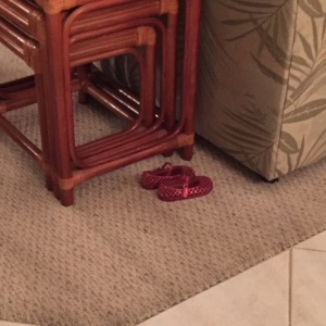 We could get very use to having these little shoes in our house!
