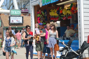 The Merry D'Elia Family at Playland