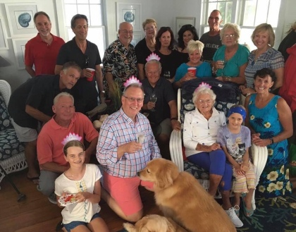Doie's 98 Birthday Party this past August
